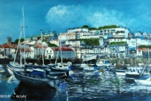 142-John-Williams--'BRIXHAM-HARBOUR'