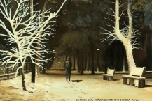 22-Martin-Carty-'WALKING-HOME-IN-THE-SNOW'
