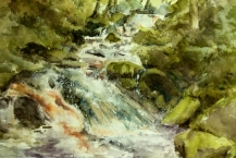 30-Sandra-Gould--'PADLEY-GORGE'---Watercolour