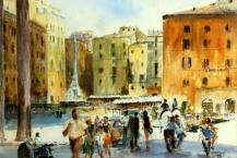 31-Sandra-Gould--'PIAZZA-DELLA-RORONDA,-ROME'