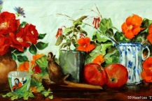59-Hazel-Lea--'STILL-LIFE-WITH-ROSES'