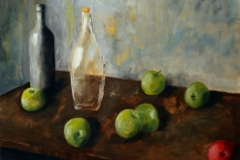 75-David-McGuire-STILL-LIFE-WITH-APPLES-AND-GLASS