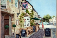 89-Alan-Reading-COTSWOLD-ARMS-BURFORD